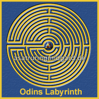 Odins Labyrinth - Asatru Ring Midgard