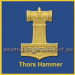 Thors Hammer blesses and protects Asgard and Midgard - Asatru Ring